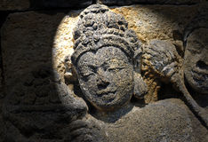 Indonesia, Java, Borobudur: Templo Imagen de archivo