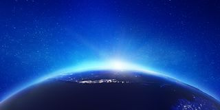 Indonesia - Java island. Elements of this image furnished by NASA. 3d rendering stock images