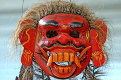 Indonesia, Java: mask royalty free stock photography