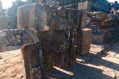 indonesia java prambanan tempel Royaltyfri Fotografi