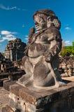indonesia java prambanan tempel Arkivbilder