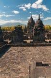 indonesia java prambanan tempel Royaltyfria Bilder