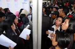 INDONESIA JOB EXPO Stock Photo
