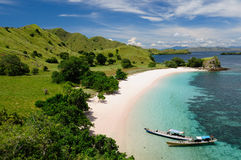 Indonesia. Komodo National Park - islands paradise for diving and exploring. The most tourist popular destination in Stock Photography
