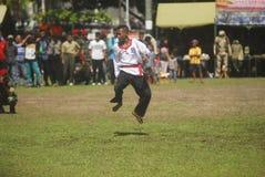 INDONESIA KOPASSUS ARMY MILITARY OFFICER ISIS WAR THREAT TERRORISM Stock Image