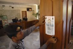INDONESIA LOWERING CRIME RATES Stock Images