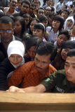 INDONESIA LOWEST SKILLED GRADUATE Stock Photo