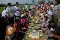 INDONESIA MÁS VISA LIBERA EL ACUERDO Fotos de archivo
