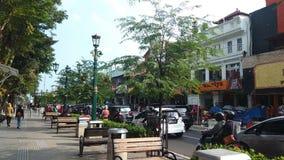 Malioboro Street. Indonesia Malioboro Street landmark view Royalty Free Stock Photography