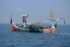 Indonesia Maritimes Regulation. The fisherman was on the boat at Muncar Beach, Banyuwangi, East Java, Indonesia Royalty Free Stock Photos