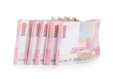Indonesia money. Isolated on white background Stock Photography