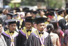INDONESIA NEEDS MORE DOCTORATE LECTURERS Stock Photography