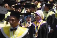 INDONESIA NEEDS MORE DOCTORATE LECTURERS Royalty Free Stock Photography