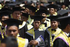 INDONESIA NEEDS MORE DOCTORATE LECTURERS Stock Image