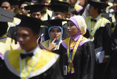INDONESIA NEEDS MORE DOCTORATE LECTURERS Stock Photo