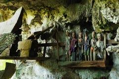 Indonesia, North Sumatra, Ancient tomb Royalty Free Stock Image