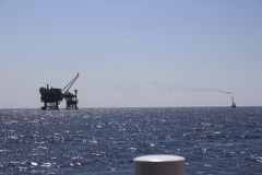 INDONESIA OIL RIG Stock Photos