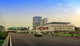 Indonesia parliament Royalty Free Stock Photos