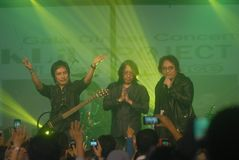 INDONESIA POP MUSIC INFLUENTIAL GROUP ICON Royalty Free Stock Image