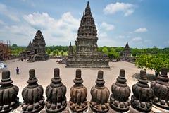 indonesia prambanan tempel yogyakarta royaltyfria bilder