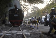 INDONESIA RAILWAY TOURISM Stock Photos