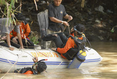 INDONESIA RESCUE TEAM Stock Photography