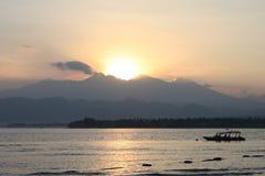 indonesia rinjani wulkan obraz stock