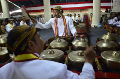 INDONESIA ROYAL GAMELAN ORCHESTRA. Stock Images