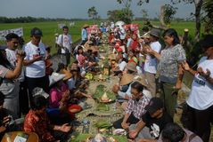 INDONESIA RURAL VILLAGE FUNDING Royalty Free Stock Photography