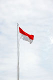 Indonesia's flag Royalty Free Stock Images