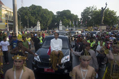 INDONESIA'S NEXT PRESIDENT JOKOWI Stock Photography