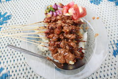 indonesia satay Obraz Royalty Free