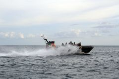 Indonesia Sea Rider Royalty Free Stock Photo