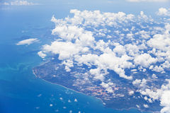 Indonesia From the Sky Stock Image