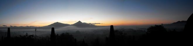 indonesia soluppgång Fotografering för Bildbyråer