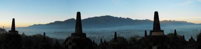 indonesia soluppgång Arkivbilder