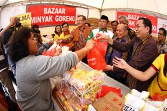 Indonesia State Minister of cooperatives and small enterprises Royalty Free Stock Images