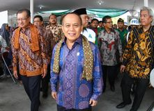 Indonesia State Minister of cooperatives and small enterprises Royalty Free Stock Image