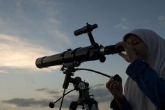 INDONESIA STUDENT ASTRONOMY CLUB Royalty Free Stock Image