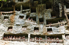 Indonesia, Sulawesi, Tana Toraja, Ancient tomb Royalty Free Stock Photos
