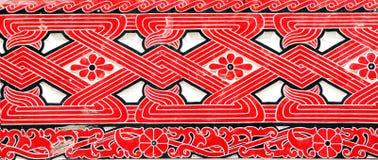 Indonesia, Sumatra: decoración Imágenes de archivo libres de regalías