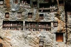 Indonesia, Tana Toraja, Ancient tomb Royalty Free Stock Photography