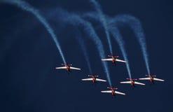Indonesia Team Jupiter aeroacrobacia Fotografía de archivo libre de regalías