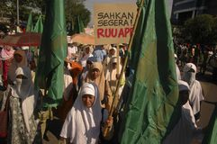 INDONESIA THIRD LARGEST DEMOCRACY NATION Stock Images
