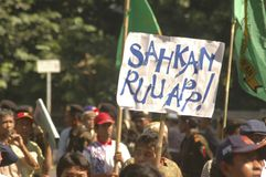 INDONESIA THIRD LARGEST DEMOCRACY NATION Royalty Free Stock Photography