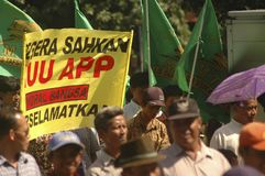 INDONESIA THIRD LARGEST DEMOCRACY NATION Royalty Free Stock Images