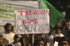 INDONESIA THIRD LARGEST DEMOCRACY NATION Royalty Free Stock Photos