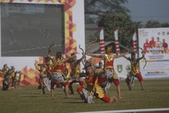 INDONESIA TO HOST ASIAN GAMES 2018 Stock Photography