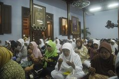 INDONESIA TOLERANT MODERATE MUSLIMS Stock Photo
