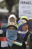 INDONESIA TOLERANT MODERATE MUSLIMS Stock Images